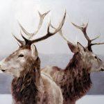 Eric Vanasse, «Confiance mutuelle», huile sur toile, 24 x 36 po