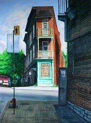 Peinture par Jay Jensen pour son cours d'art