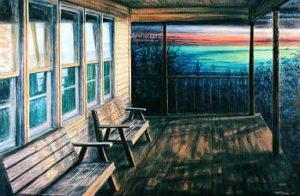 Peinture par Jay Jensen pour le cours de peinture et de dessin