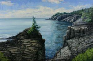 Peinture de Jay Jensen pour le cours de peinture