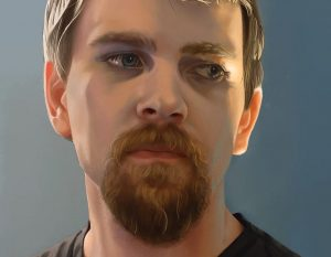Online Course, Digital Portrait Painting with Danielle Munoz