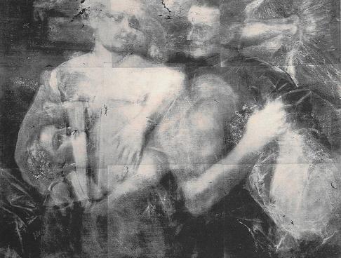 peinture au rayons x
