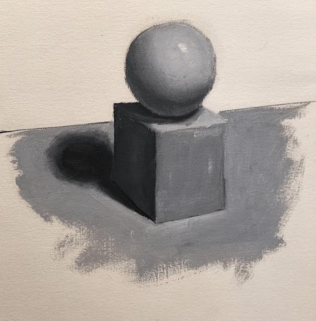 choisir un sujet pour une peinture débutant