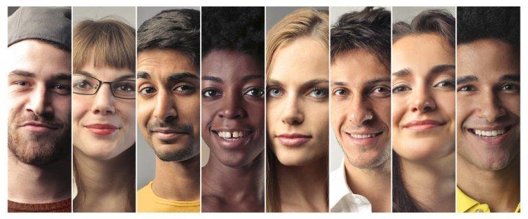 température des couleurs de la peau
